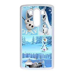 LG G3 Phone Case Cover Frozen Olaf6623