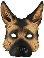 Adult German Shepherd Halloween Costume Dog Mask