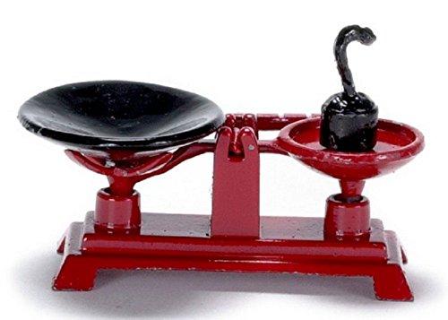 Maison De Poupées Miniature 1:12 Échelle Accessoire Boutique Pays Stand Balances Classics IM65265