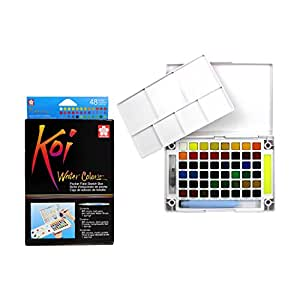 Koi XNCW-48N Watercolor Field, 48 Color Set