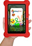 KOCASO [7 INCH] Quad Core [Android 4.4 KitKat] Kid's HD Tablet PC- 8GB Storage W/ 32GB Expandable Memory, 1024x600, Dual Camera, WiFi & Bluetooth, Micro USB/SD Card Slot, Google Play Apps- (Red)