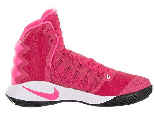 NIKE Mens Hyperdunk 2016 Vivid Pink/Pink Blast White Blk Basketball Shoe 13 Men US 1PhiqYy