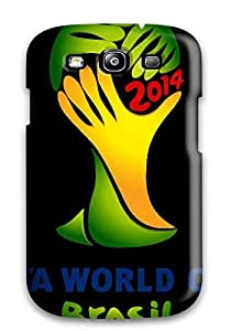 Waterdrop Snap-on Wc 2014 Brasil Case For Galaxy S3