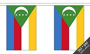 The Flag B038438 Wholesaler - Banderines de Comoras (24 x 1 x 23 cm)