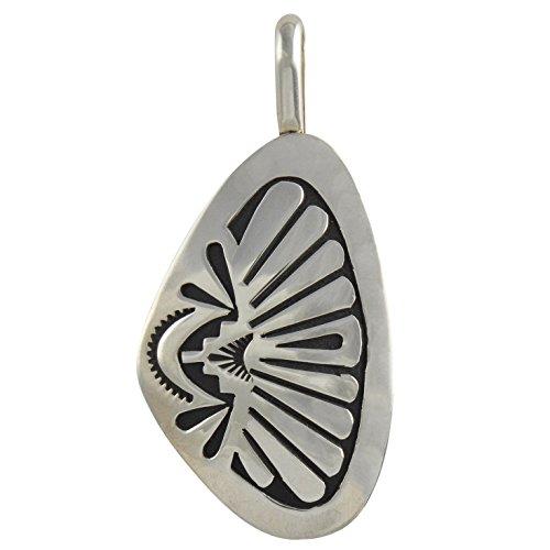 Select Jewelry Displays Sterling Silver Overlay Pendant Medium Navajo Native American Jewelry