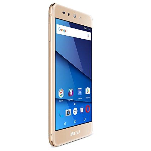 BLU Grand X LTE G0010WW Unlocked GSM Dual-SIM Phone w/ 8MP Camera - Gold