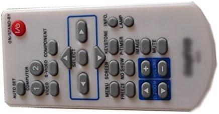 Easy Repalcement Remote Conrtrol Fit Sanyo PLC-WXU700A PLC-XU4000 Projector