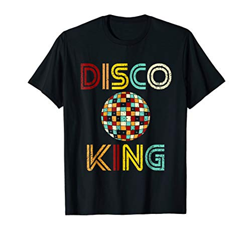 Disco King Mens Distressed Dance 70s 80s