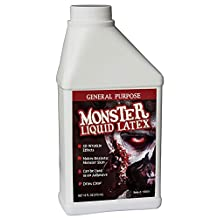 Monster Liquid Latex - 16oz Pint - Creates Monster / Zombie Skin and FX by Monster Liquid Latex