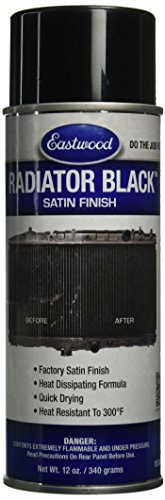 Eastwood 10340Z Black Radiator Paint (Radiator Black Paint Satin 12oz Aerosol), (Paint For Radiator compare prices)