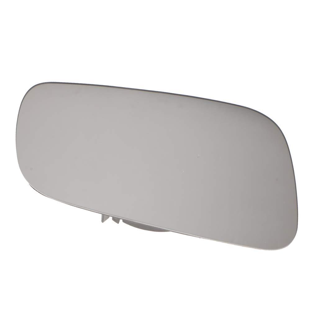 Homyl Car Right Side Heating Rearview Mirror White Glass for VW Jetta MK4 Passatc