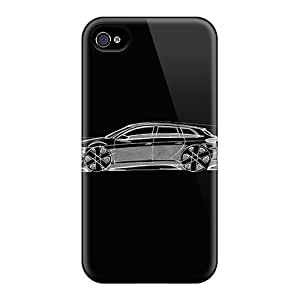 Iphone Case - Tpu Case Protective For Iphone 4/4s- Audi A3 Sportback