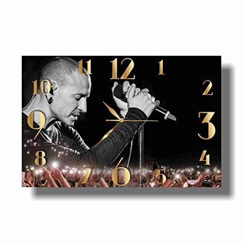 Clock Bennington (Art time production Chester Charles Bennington-Linkin Park 17
