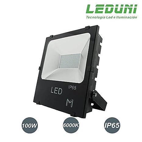 LEDUNI ® Foco Proyector LED 100W Exterior Chips OSRAM IP65 ...