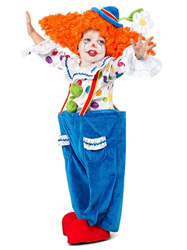 Princess Paradise Colorful Circus Clown Toddler Costume -