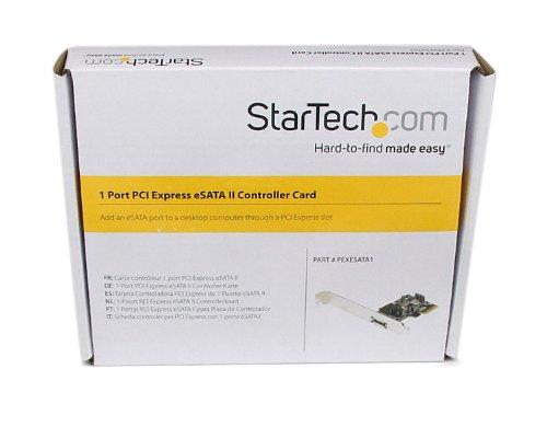 StarTech.com 1 Port PCI Express eSATA II Controller Card PEXESATA1 by StarTech (Image #5)