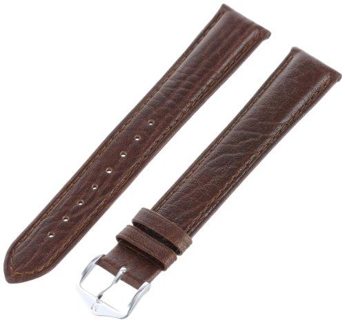 """Hirsch 010092-15-18 18 -mm  Genuine Textured Leather """"No ..."""