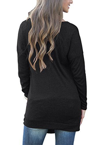 Muhadrs-Womens-Long-Sleeve-Casual-Round-Neck-Loose-Tunic-Top-Blouse-T-Shirt