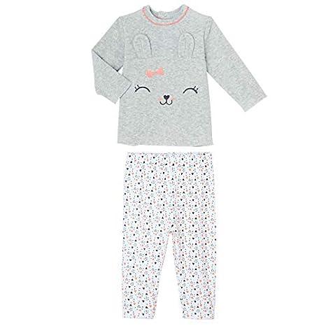 a0d6ceb682f39 Petit Béguin - Pyjama bébé 2 pièces velours Pretty Bunny - Taille - 9 mois