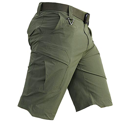 CARWORNIC Men's Quick Dry Tactical Shorts