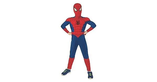 Amazon.com: Disfraz de Spiderman con relleno de mú ...