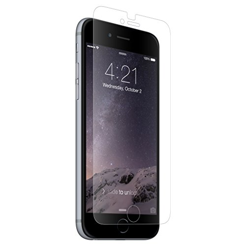 BodyGuardz - UltraTough Clear ScreenGuardz, Crystal Clear Anti-Microbial Screen Protection for iPhone 6 Plus/6S Plus