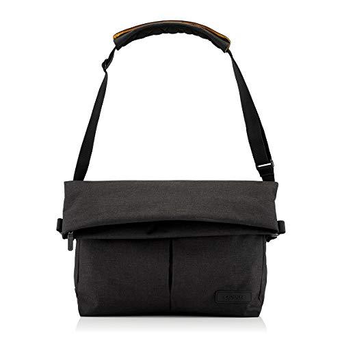 Crumpler Unisex Rocket Booster Laptop Messenger Bag Black Marle