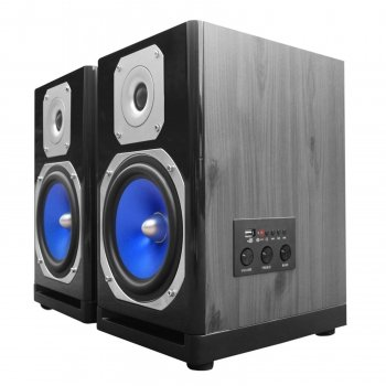 Technical Pro MB6000 Active & Passive Studio Monitor 600 Watts Pair Computer TV Speakers