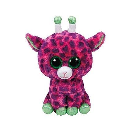 24b0509cba8 Amazon.com  Ty 37142 Gilbert – Giraffe Plush Animals with Glitter ...