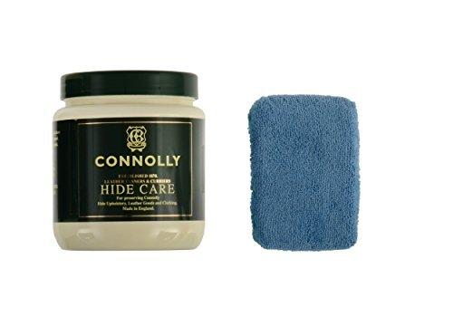 Connolly Hide Care Leather Conditioner & Restorer with Microfiber Applicator Sponge