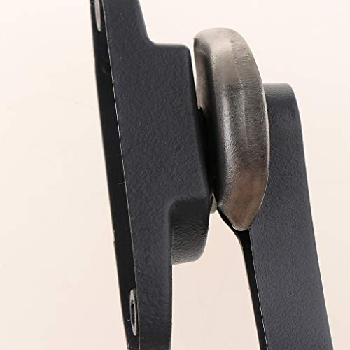 Fityle All-Aluminum Alloy Window Sash Lock Sliding Window Door Sash Keeper Crescent Window Lock, 4 Colors - Gray by Fityle (Image #8)