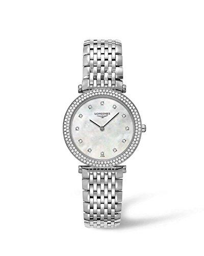 Longines La Grande Classiqe - L4.515.0.87.6 - MOP Diamond Dial Diamond Bezel Quartz Women's