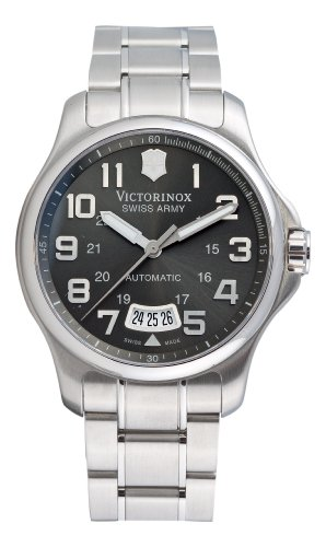 Victorinox Swiss Army Men's 241373 Officers Mecha Watch