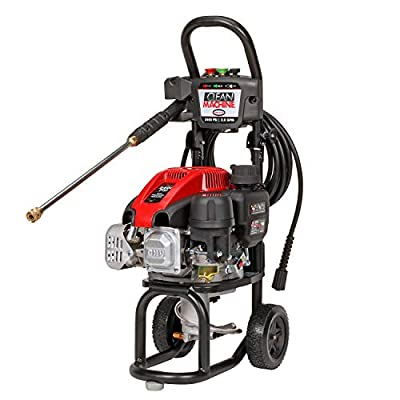 SIMPSON Cleaning CM60912 Clean Machine Gas Pressure Washer Powered by Simpson, 2400 PSI at 2.0 GPM by Simpson