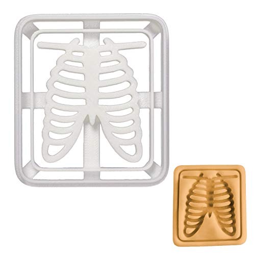 (Chest X-Ray cookie cutter, 1 piece -)