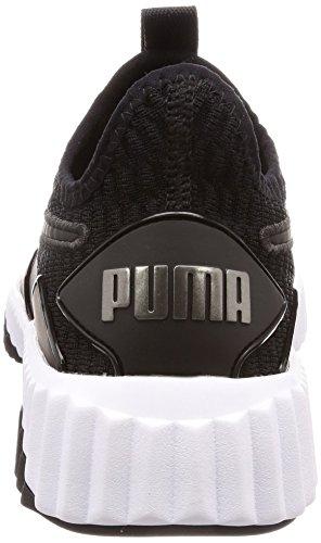 Puma Wn's de Noir puma Defy Fitness White 01 Puma Femme Chaussures Black UCwH0Sq5