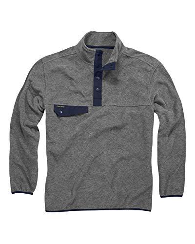 - DRI Duck Men's 7352 Denali Fleece Long Sleeve Pullover (X-Large, Platinum)