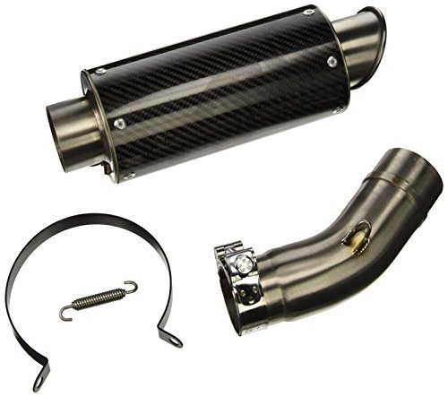 Hotbodies Racing 40901-2400 Carbon Fiber Slip-On MGP Exhaust Canister