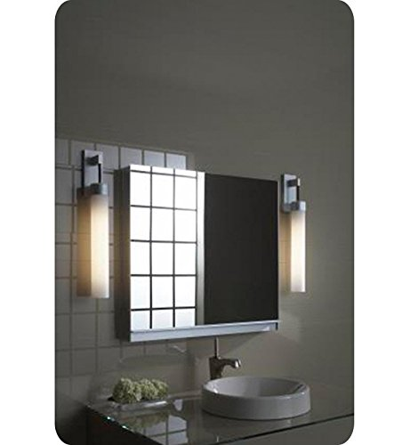 (Robern UC3027FPL Uplift Flat Plain Mirror Medicine Cabinet)