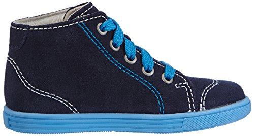 Richter Kinderschuhe Sing  0123-521 - zapatillas de running de cuero bebé azul - Blau (atlantic  7201)