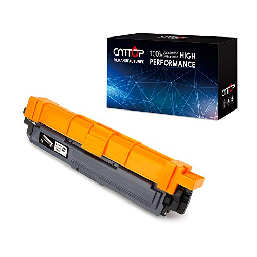 CMTOP Compatible Toner Replacement for Brother TN221 TN-221 Toner Cartridegs, High Yield, Work with Brother HL-3170CDW MFC-9130CW MFC-9330CDW HL-3140CW HL-3180CDW MFC-9340CDW Laser Printer, 1 Black