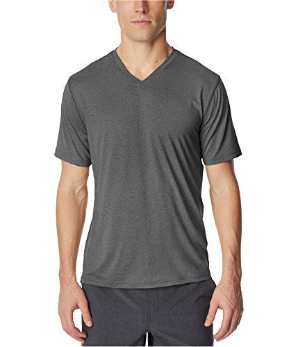 32 DEGREES Cool Mens Medium Performance V Neck T-Shirt Gray M