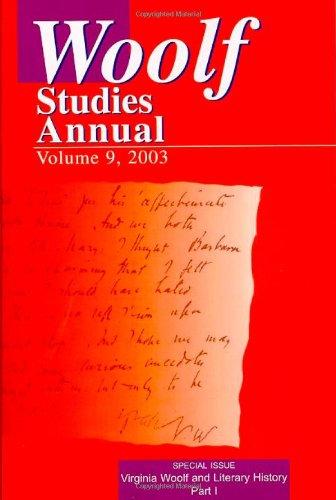 Download WOOLF STUDIES ANNUAL VOL 9 (Woolf Studies Annual (Paperback)) pdf