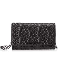 Women's Wallet with Chain, black