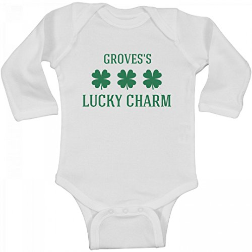 Grovess Lucky Charm  Infant Long Sleeve Bodysuit
