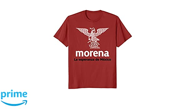 Amazon.com: AMLO 2018 Morena - Andres Manuel Lopez Obrador Shirt Playera: Clothing