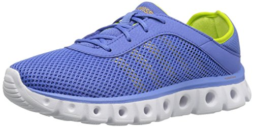 K-Swiss Women's X Lite Athleisure CMF Cross-Trainer Shoe, Ultramarine/Gold/Optic Yellow, 9.5 M US