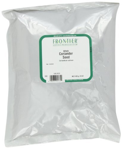 Frontier Bulk Coriander Seed Whole, 1 lb. package