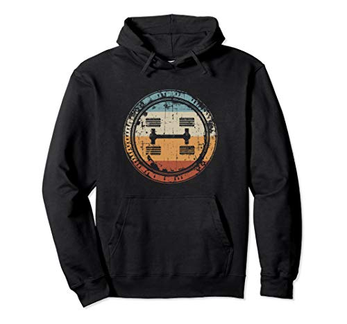 Vintage 4WD 4x4 Off Road Gift  Pullover Hoodie