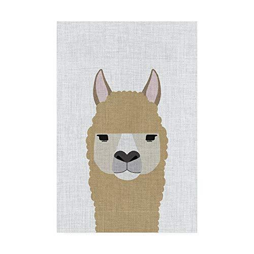 Trademark Fine Art Alpaca by Annie Bailey Art, 12x19